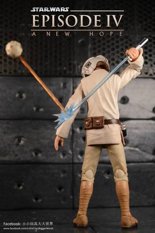 【小小玩具大大世界。投稿】[玩評] S.H.Figuarts Luke Skywalker (Episode IV)
