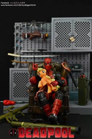 【小小玩具大大世界。投稿】 Marvel Legends 死侍 Deadpool (X-Men Wave 2016)