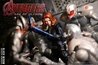 【小小玩具大大世界。投稿】[玩評] S.H. Figuarts 黑寡婦 Black Widow (Avengers: Age of Ultron)