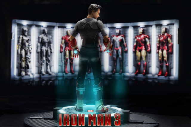 【玩具人楊書偉投稿】S.H.Figuarts Tony Stark 東尼 史塔克 & Iron Man Mark 42 寫真