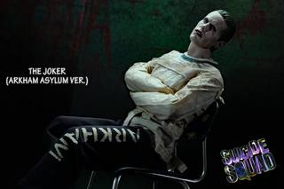 [Hottoys: Suicide Squad] The Joker(Arkham Asylum version)