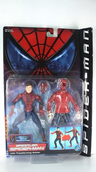 【玩具人。Cookie's Toys Guy。投稿】 toybiz公司的 WRESTLER SPIDER-MAN