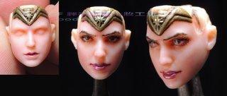 玩具人Goosefish投稿 [Gf 胖宅塗裝修改]Mafex 6 inch BVS Wonder Woman