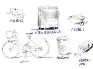 日本轉蛋常以各大都市或地方特色為主題出系列轉蛋,若有「台北轉蛋」會轉出什麼?