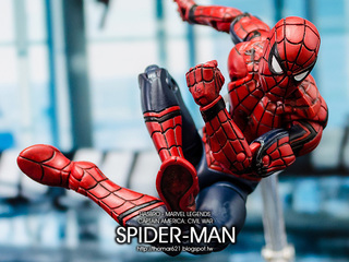 HASBRO MARVEL LEGENDS CAPTAIN AMERICA: CIVIL WAR SPIDER-MAN 電影內戰 蜘蛛人