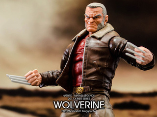 玩具心得:HASBRO MARVEL LEGENDS 2017 X-MEN SERIES WOLVERINE (OLD MAN LOGAN) 老狼羅根