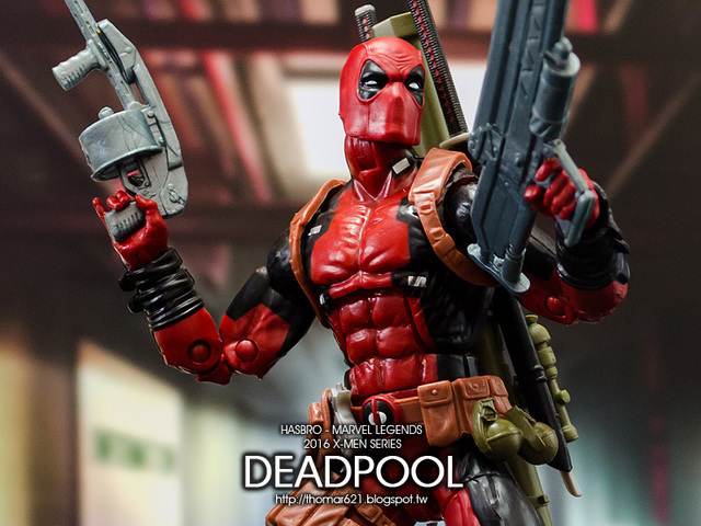 玩具心得:HASBRO MARVEL LEGENDS 2016 X-MEN SERIES DEADPOOL 死侍