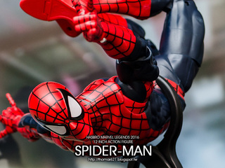 玩具心得:HASBRO MARVEL LEGENDS 2016 12 INCH ACTION FIGURE SPIDER-MAN 12吋 蜘蛛人
