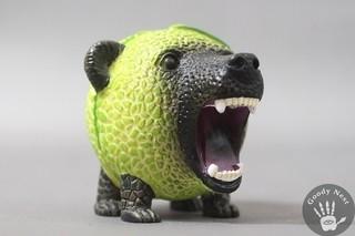 熊本熊的宿敵,夕張熊磁鐵模型
