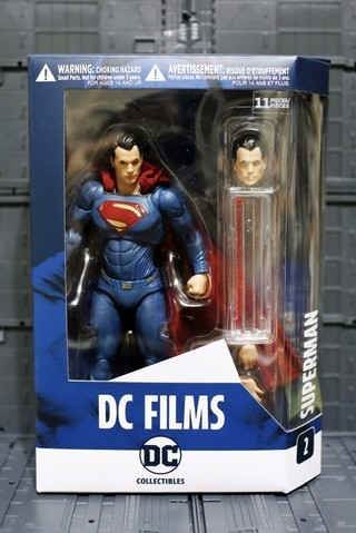【玩具人。白色猴子。投稿】DC Collectibles – DC FiLMS 系列 超人 Superman 開箱分享