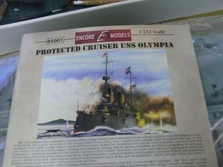 【玩具人。詹波。投稿】功勳艦 U.S.S OLYMPIA 1/232 比例 製作分享