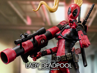 玩具心得:MARVEL SELECT LADY DEADPOOL 死侍小姐