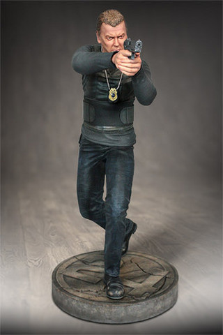 Hollywood Collectibles Group【傑克.鮑爾】24小時反恐任務 Jack Bauer 1/4 比例 雕像作品