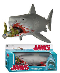 FUNKO X SUPER7 ReAction 系列【大白鯊 SDCC 限定版】Jaws 3.75吋 吊卡
