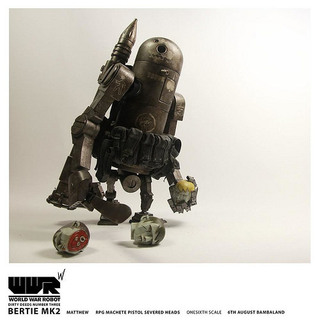 threeA –【DIRTY DEEDS V2 BERTIE MK2】WWR SOTF 系列 1/6TH 第三彈