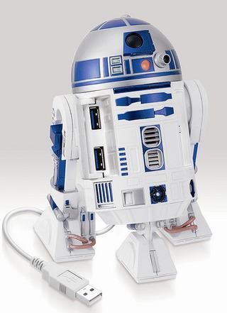 《星際大戰》R2-D2  USB擴充座!