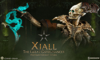 Sideshow Collectibles【骨之占卜師:Xiall】死亡法庭 Court of the Dead 傳奇系列雕像作品