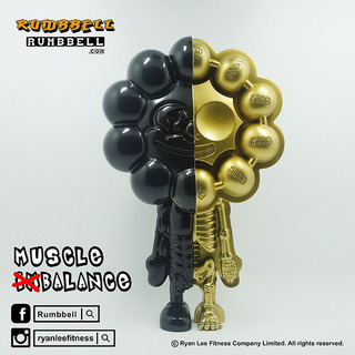 Rumbbell – D12 攤位【TOY SOUL 2015 限定品】Muscle (Im)Balance Figure